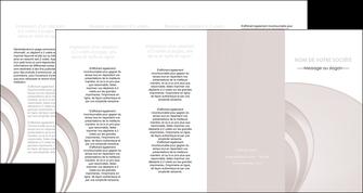 personnaliser maquette depliant 4 volets  8 pages  web design texture contexture structure MLGI92450