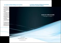 modele en ligne depliant 2 volets  4 pages  web design texture contexture structure MLGI92806
