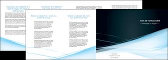 personnaliser modele de depliant 4 volets  8 pages  web design texture contexture structure MLGI92810