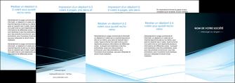 personnaliser maquette depliant 4 volets  8 pages  web design texture contexture structure MLGI92816