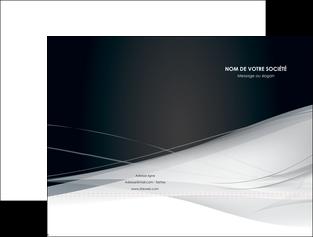 Impression pochettes à rabat personnalisées Web Design devis d'imprimeur publicitaire professionnel Chemises à rabats - A4 (recto seul)