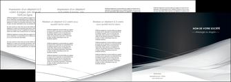 personnaliser maquette depliant 4 volets  8 pages  web design texture contexture structure MLGI92862