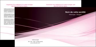 impression depliant 2 volets  4 pages  web design texture contexture structure MLGI92900
