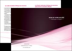 cree depliant 2 volets  4 pages  web design texture contexture structure MLGI92910
