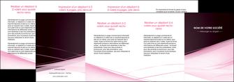 faire depliant 4 volets  8 pages  web design texture contexture structure MLGI92920