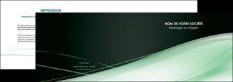 realiser depliant 2 volets  4 pages  web design texture contexture structure MLGI92940