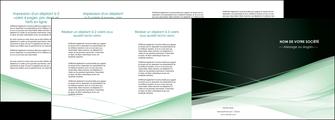 impression depliant 4 volets  8 pages  web design texture contexture structure MLGI92966
