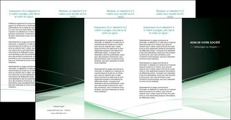 imprimer depliant 4 volets  8 pages  web design texture contexture structure MLGI92970