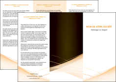 imprimer depliant 3 volets  6 pages  web design texture contexture structure MLGI93000