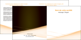 creer modele en ligne depliant 2 volets  4 pages  web design texture contexture structure MID93004