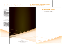 personnaliser modele de depliant 2 volets  4 pages  web design texture contexture structure MLGI93014