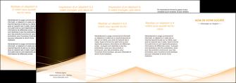 personnaliser modele de depliant 4 volets  8 pages  web design texture contexture structure MID93024