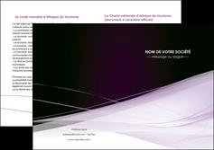 maquette en ligne a personnaliser depliant 2 volets  4 pages  reseaux texture contexture structure MLGI93090