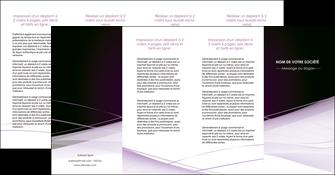 modele depliant 4 volets  8 pages  reseaux texture contexture structure MLGI93098