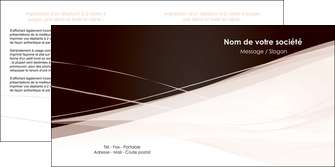 imprimer depliant 2 volets  4 pages  web design texture contexture structure MLGI93472