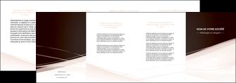 modele en ligne depliant 4 volets  8 pages  web design texture contexture structure MLGI93484