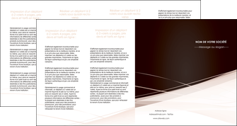 creer modele en ligne depliant 4 volets  8 pages  web design texture contexture structure MLGI93488