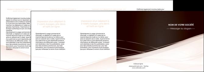 imprimerie depliant 4 volets  8 pages  web design texture contexture structure MLGI93490