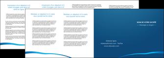 cree depliant 4 volets  8 pages  web design texture contexture structure MLGI93538