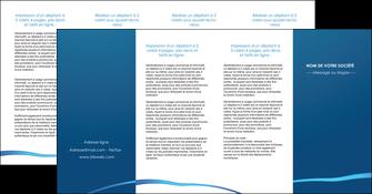 exemple depliant 4 volets  8 pages  web design texture contexture structure MLGI93542