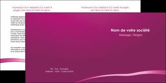 maquette en ligne a personnaliser depliant 2 volets  4 pages  web design texture contexture structure MIS93610