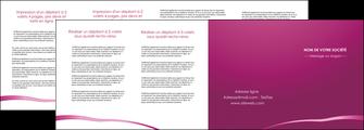 imprimerie depliant 4 volets  8 pages  web design texture contexture structure MIS93642