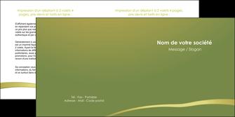 personnaliser maquette depliant 2 volets  4 pages  web design texture contexture structure MLGI93662