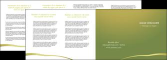 creer modele en ligne depliant 4 volets  8 pages  web design texture contexture structure MLGI93694