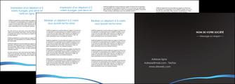 imprimerie depliant 4 volets  8 pages  web design texture contexture structure MLGI93758