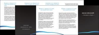 personnaliser modele de depliant 4 volets  8 pages  web design texture contexture structure MLGI93764