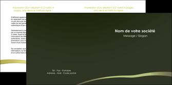faire depliant 2 volets  4 pages  web design texture contexture structure MLGI93882
