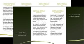 realiser depliant 4 volets  8 pages  web design texture contexture structure MLGI93918
