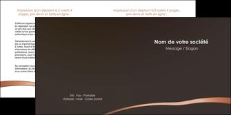 modele en ligne depliant 2 volets  4 pages  web design texture contexture structure MLGI93964