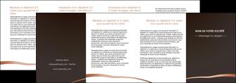 maquette en ligne a personnaliser depliant 4 volets  8 pages  web design texture contexture structure MID94002