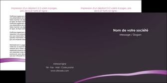 faire modele a imprimer depliant 2 volets  4 pages  web design texture contexture structure MIF94018