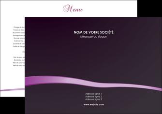 imprimerie set de table metiers de la cuisine menu set de table set de table menu MIF94048