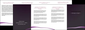 cree depliant 4 volets  8 pages  web design texture contexture structure MIF94050