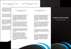 imprimer depliant 3 volets  6 pages  web design contexture structure fond MLGI94200