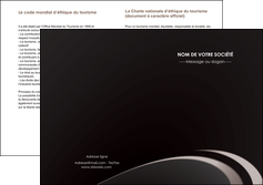 cree depliant 2 volets  4 pages  web design contexture structure fond MLGI94274