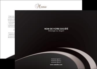 personnaliser modele de set de table metiers de la cuisine menu menu restaurant restauration MLGI94294