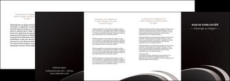 faire modele a imprimer depliant 4 volets  8 pages  web design contexture structure fond MLGI94296