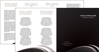creation graphique en ligne depliant 4 volets  8 pages  web design contexture structure fond MLGI94300