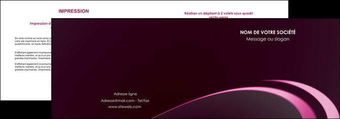 maquette en ligne a personnaliser depliant 2 volets  4 pages  contexture structure fond MLGI94330