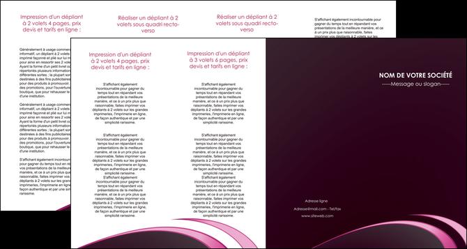 impression depliant 4 volets  8 pages  contexture structure fond MLGI94352