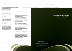 realiser depliant 3 volets  6 pages  texture contexture structure MLGI94364
