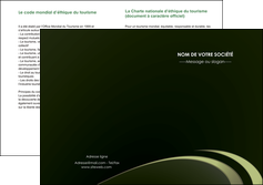 imprimerie depliant 2 volets  4 pages  texture contexture structure MLGI94378