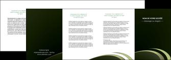 maquette en ligne a personnaliser depliant 4 volets  8 pages  texture contexture structure MLGI94400