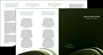 faire depliant 4 volets  8 pages  texture contexture structure MLGI94404