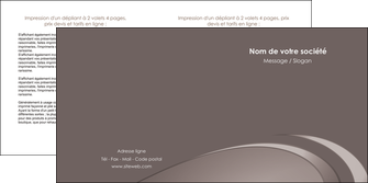 creer modele en ligne depliant 2 volets  4 pages  web design texture contexture structure MLGI94524