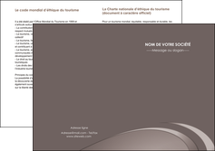 cree depliant 2 volets  4 pages  web design texture contexture structure MLIG94534